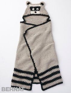 Lil' Bandit Blanket - Free Crochet Pattern - (yarnspirations)