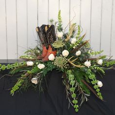 Masculine funeral spray standing wreath masculine mix in kingston pa mattern s fl and gift 2016 07 16 jpg Casket Flowers, Grave Flowers, Cemetery Flowers, Dad Funeral Flowers, Funeral Bouquet, Funeral Floral Arrangements, Flower Arrangements, Flower Images Wallpapers, Funeral Caskets
