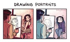 Drawing Courses: Expectation vs Reality by C-Cassandra