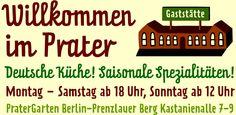 Prater Garten Berlin - Der älteste und schönste Biergarten der Stadt.
