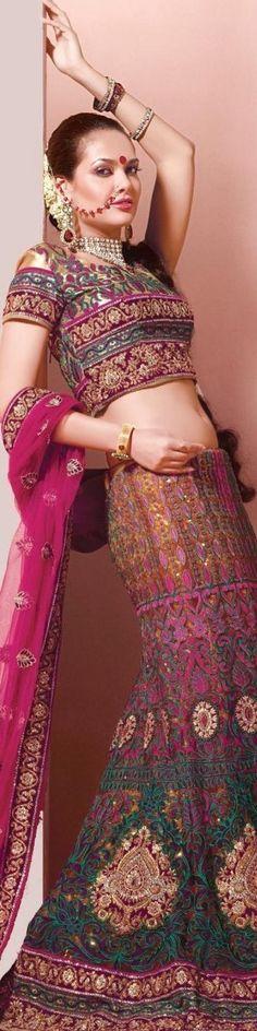 Female Saree Art