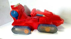 80s Vintage He Man Vehicle - MOTU Attak Trak FREE SHIPPING by AntiquesRevived on Etsy