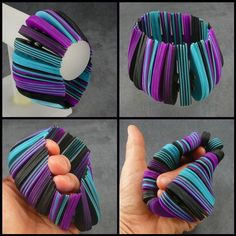 "Flexible ""Rolodex"" Cuff 