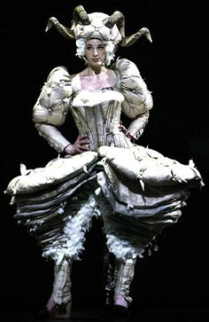 World of Wearable Art NZ.....stunning, made from old matresses, & represents the Ram