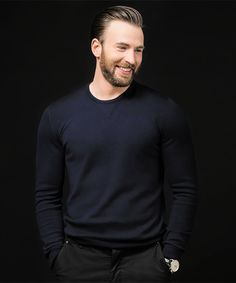 Chris Evans by Macey J. Foronda for BuzzFeed