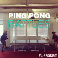 Ping Pong at Flipagram!