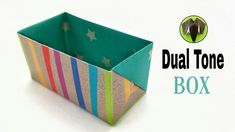 Dual Tone Box - Origami | DIY | Tutorial by Paper Folds - 823