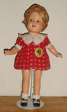 """Vintage 30s Ice Skating Doll Pattern for 16/"""" Sonja Henie Shirley Temple Patsy"""