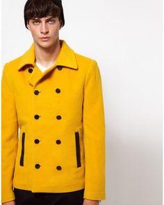 Unconditional Pea Coat, Asos