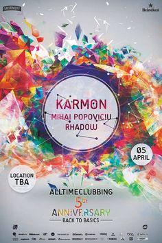 Alltimeclubbing anniversary with Karmon - Timisoara.