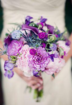 Wedding ideas for Amanda and Alicia Purple Wedding, Floral Wedding, Dream Wedding, Wedding Bride, Floral Bouquets, Wedding Bouquets, Flora Botanica, Lavender Bouquet, Lakeside Wedding