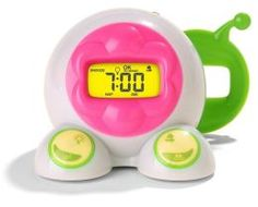 OK to Wake! Alarm Clock and Night-Light Barnes and Noble $33