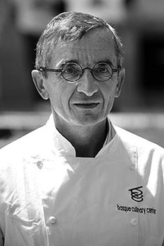Chef Michel Bras ~  He and his son Sebastien run a hotel-restaurant in Laguiole. Restaurant Bras has had three Michelin stars since 1999. Going to Bras is a pilgrimage, and many serious foodies have made it.