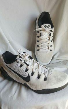 Nike Kobe IX EM TB White Black 685776 100 Men's Size 13 EUC | Clothing, Shoes & Accessories, Men's Shoes, Athletic | eBay!