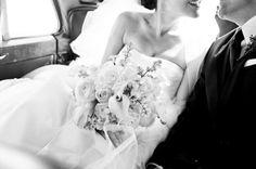 black & white wedding pictures