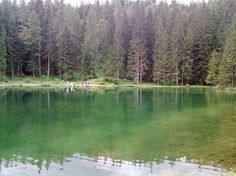 Lake Pianozes (small lake) - Cortina d'Ampezzo