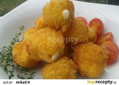 Smažená mozzarella recept - TopRecepty.cz