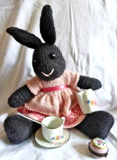 Les Petits knitted toys: Rosalie