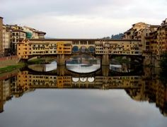 Ponte Vecchio, i've been here and this pic does not do it justice...but it's beauty-filled