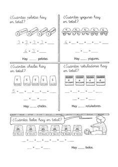 Lernübungen für kinder zu drucken. Funny Multiplikationen Spanisch zu lernen 4