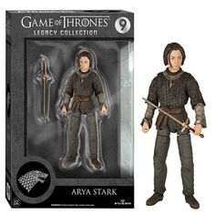 Game Of Thrones Legacy Collection Arya Stark Action Figure