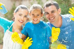 While spring cleaning this year, remove any window coverings made before 2001 and install today's safer, cordless products! Window Cleaning Services, Roof Cleaning, Deep Cleaning, Washing Windows, Organic Cleaning Products, Cleaning Recipes, Window Cleaner, Child Safety, Cleaning Solutions