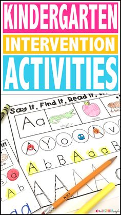 This intervention curriculum is the perfect program to implement with students who struggle with letter identification. Teachers love this Common Core Standards-based program that focuses on letter identification and recognition in a simple, easy-to-follo
