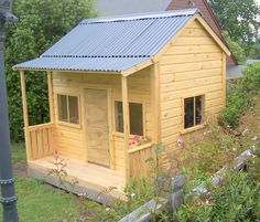 More playhouse ideas (with dimensions)
