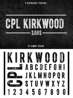 CPL KIRKWOOD SANS. Sans Serif Fonts. $25.00