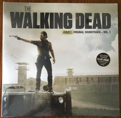 Music Albums: The Walking Dead Soundtrack Vol. 1 Black Smoke Vinyl Lp New Record Rare Volume BUY IT NOW ONLY: $35.99