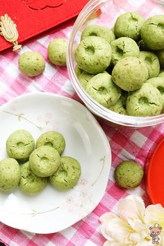 Green Pea Cookies - Bear Naked Food