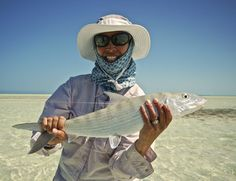 Fly Fishing on an Exotic Island once inhabited by Pirates.