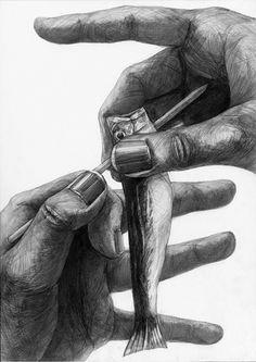 美術への確実な一歩に|新宿美術学院|芸大・美大受験総合予備校|2010年度 学生作品/デザイン・工芸科 Feet Drawing, Drawing Sketches, Pencil Drawings, Interesting Drawings, Amazing Drawings, Tattoo Drawings, Art Drawings, A Level Art, Ink Art