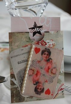 Lottery ticket wedding favour idea http://www.etsy.com/listing/44762516/vintage-style-lottery-ticket-holder