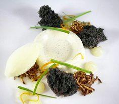 Coconut lemongrass panna cotta  By executive pastry chef Benjamin Copeland  Gasparilla Inn main dining room