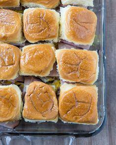 Baked Cuban Sliders