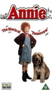 "Oh Annie!  This is my favorite musical eva'.  Between all the little orphan girls, Carol Burnett as Miss Hannigan, and the super-fun songs, this just rocks.  ""Dumb dog, why are you following me??"""
