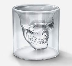 Skull Shot Glass (via ThisIsntHappiness.com)