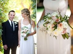 Pink Ombre Wedding at The Parker Palm Springs: Lindsey + Eddie Hair & Makeup by symmetrybeauty.com/