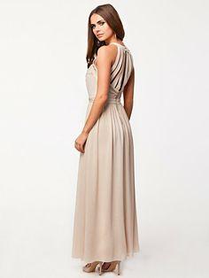 Cage Maxi Dress - Tfnc - Nude - Feestjurken - Kleding - Vrouw - Nelly.com