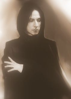 Young Snape. This is actually really good! Can't stop laughing he reminds me of my sister