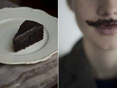 Chocolate Mustache by Kathreinerle Photography