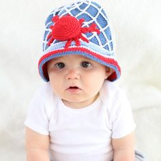 cbfe36455d5 Cutie Crab Net Baby Boy or Girl Hat - Gender Neutral