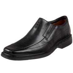 Clarks Unstructured Men's Un.Sheridan Dress Casual Slip On,Black,9 N US