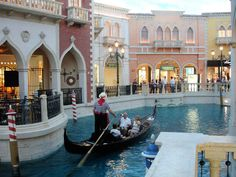 Gondola Ride Las Vegas The Ventian