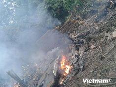 Máy bay rơi ở Hòa Lạc, Hiện trường thảm khốc vụ máy bay rơi | Sự chuyển đổi Trái đất