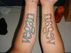 Forearm matching name tattoos | Matching Tattoo Ideas