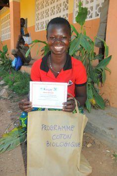 Batia Public Elementary School, Benin - One very proud winner.