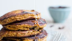 Chocolate Chip Pumpkin Pancakes - Gluten Free