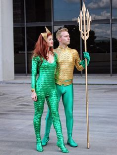 Romantic Movie Aquaman Cosplay Bodysuit Jumpsuit Justice League Catsuit Gold Green Adult Kids Suit Costume Arthur Curry Halloween Party Making Things Convenient For Customers Movie & Tv Costumes